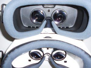 Gear VR Ventilation Holes