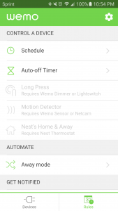 wemo insight set a timer