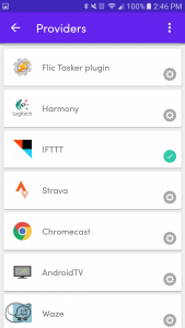 Flic, How to make IFTTT Tag 2