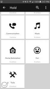Flic, How to use IFTTT Applets 1