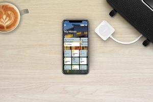 image of Apple Home app on iPhone