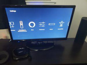 image of Amazon Fire TV Stick setting