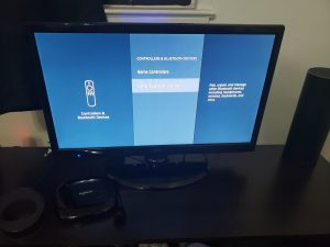 image of Fire TV Voice command enabling with Amazon Echo