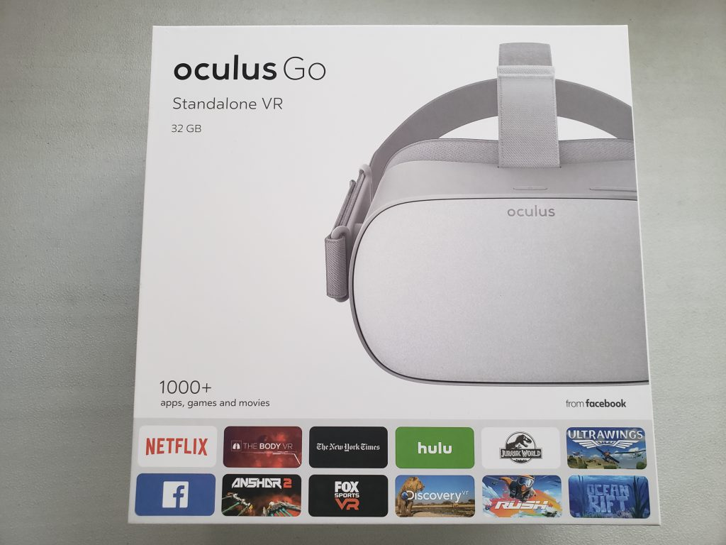 image of Oculus Go retail box