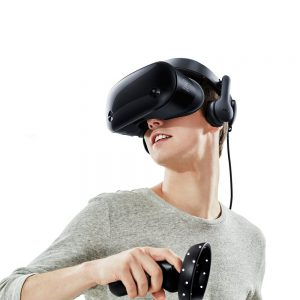 image of samsung odyssey mixed reality headset