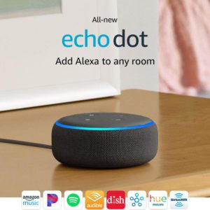 image of amazon 3rd gen echo dot