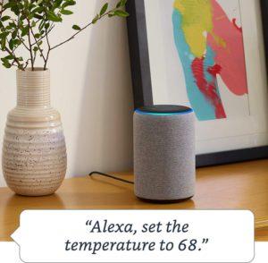 image of echo plus built-in temperature sensor