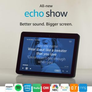 image of echo show 2018