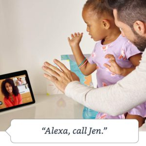 image of echo show video call