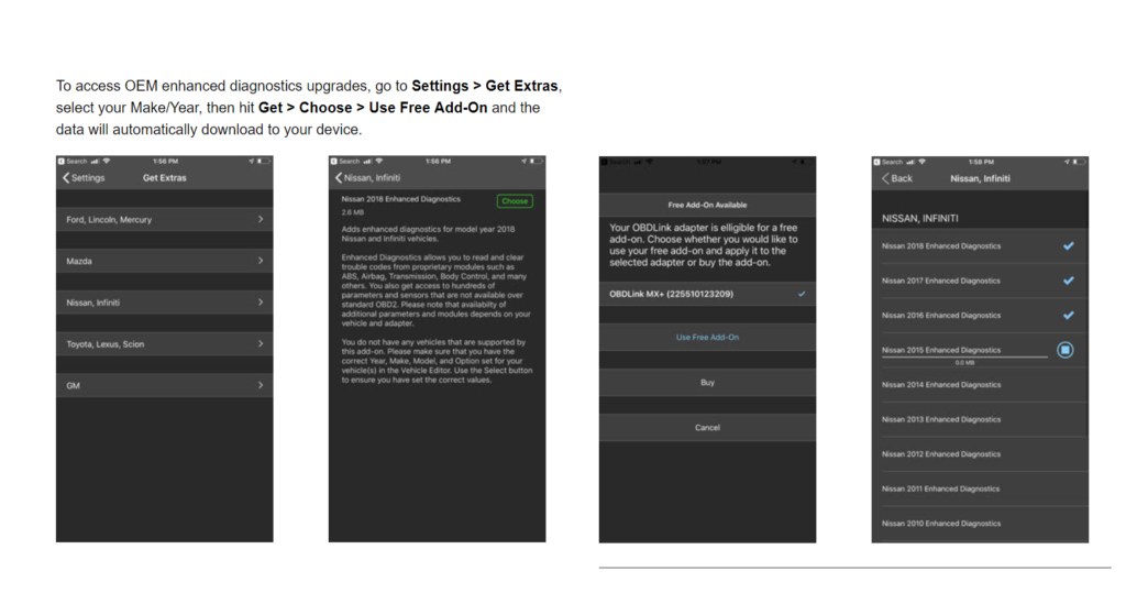 image of obdlink mx add on activation