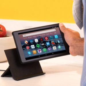 image of show mode charging dock allows you to handle your fire tablet