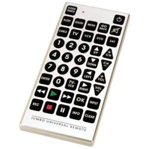 image of jumbo universal tv remote