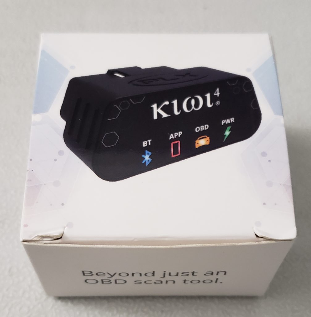 image of plx kiwi obd scan tool
