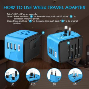 image of Whlzd All in One International Power Adapter