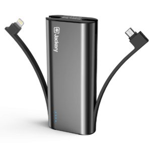 image of portable battery charger 6000mah