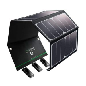image of ravpower 24w solar panel charger