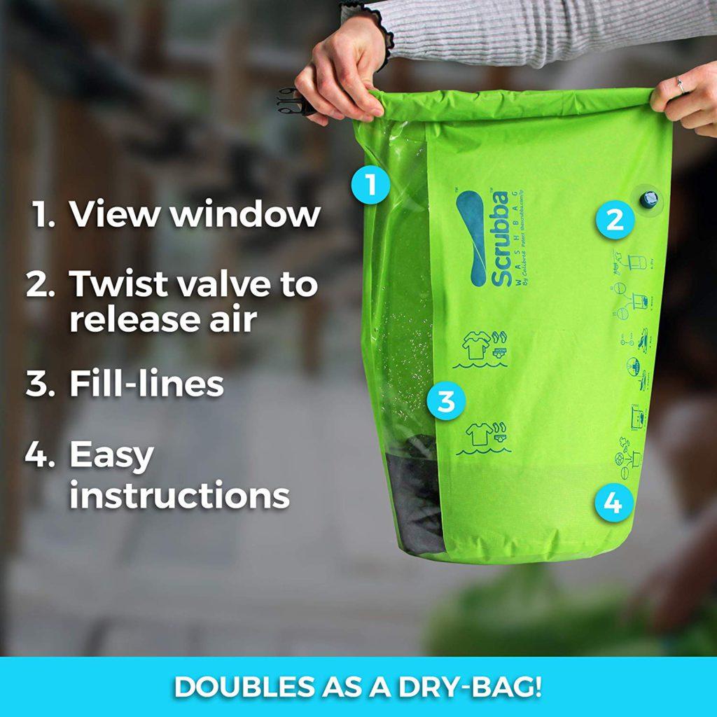 image of scrubba wash bag