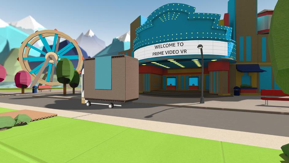 image of amazon prime vr app oculus go quest gearvr