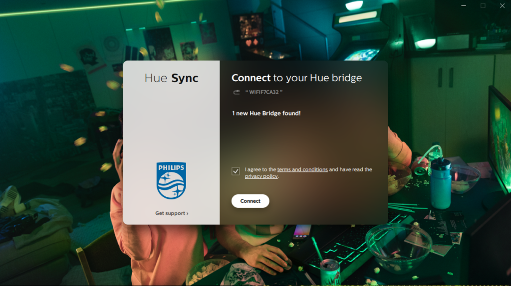 image of hue sync connect bridge