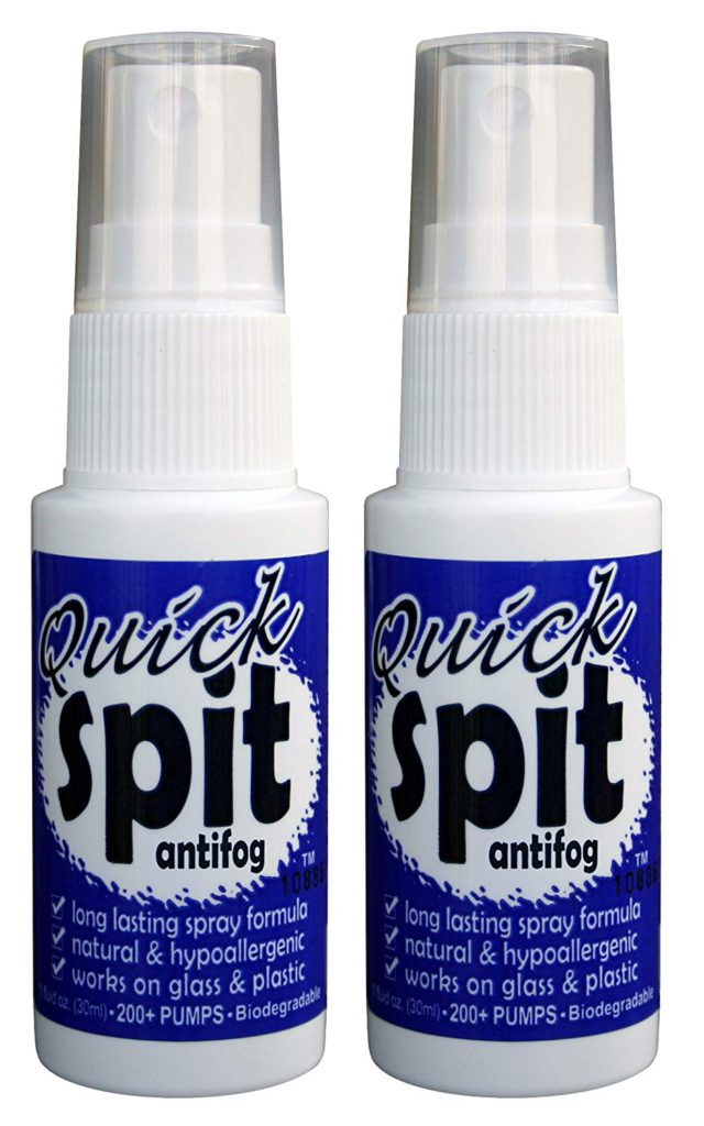 image of jaws quick spit antifog spary