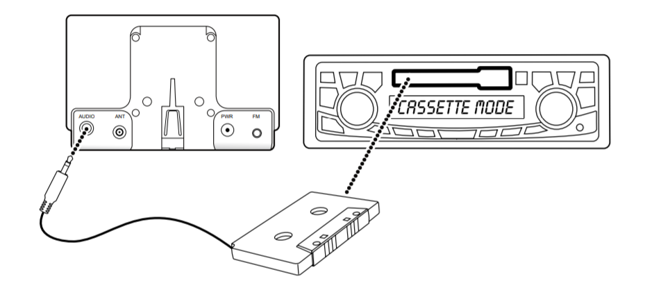 image of siriusxm cassette adapter
