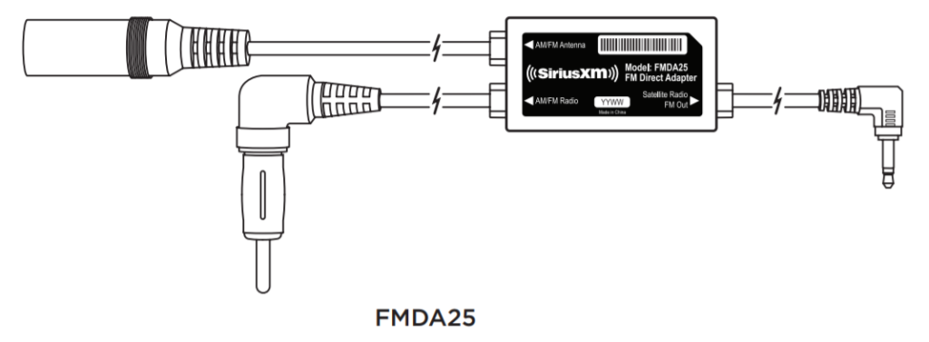 image of siriusxm fm direct adapter