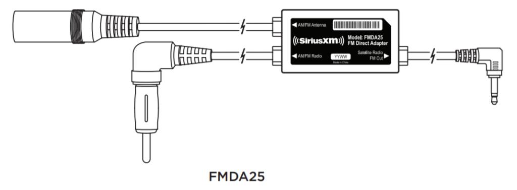 image of siriusxm fm direct adapter