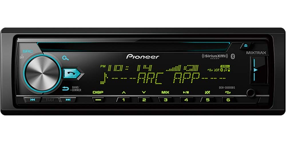 image of siriusxm ready logo on head unit