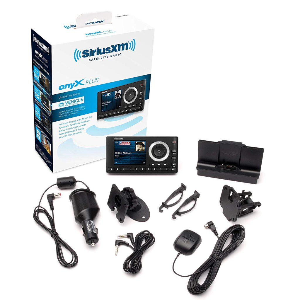image of siriusxm sxpl1v1 onyx plus statellite radio with vehicle kit