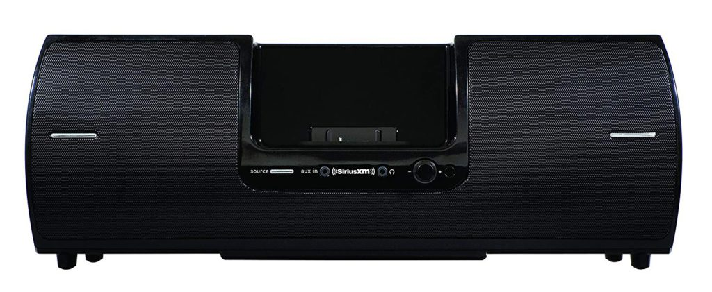image of siriusxm sxsd2 portable speaker dock