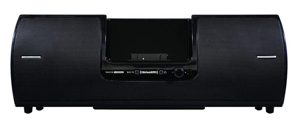 image of siriusxm sxsd2 portable speaker dock