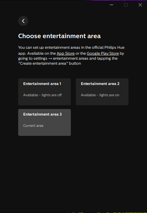 image of switch entertainment area