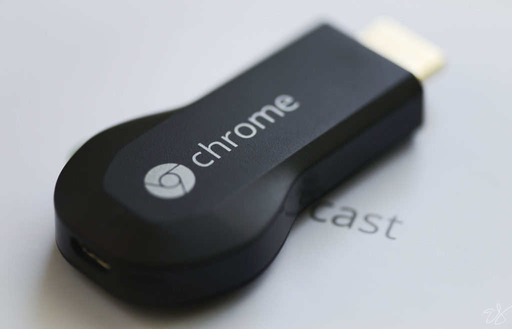 image of the 1st generation of chromecast