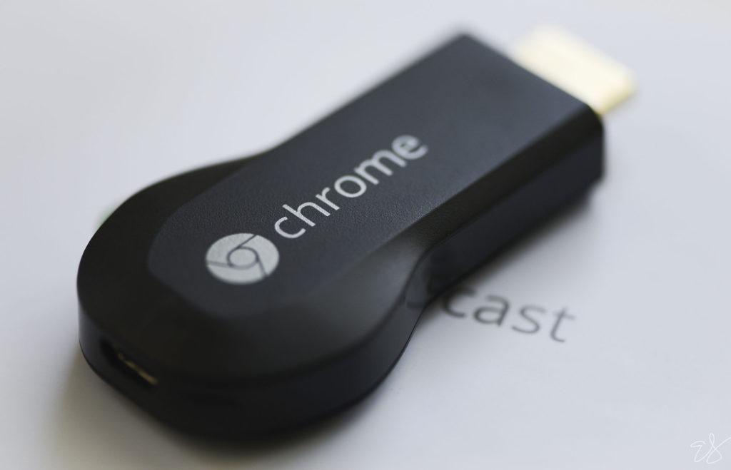 image of the 1st generation of chromecast