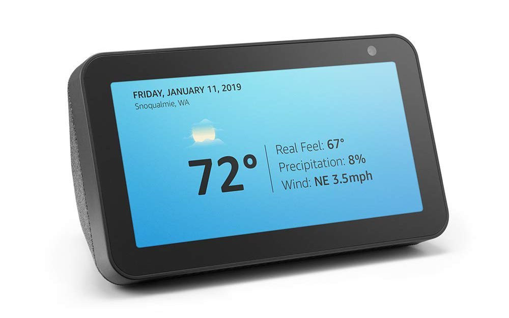 image of amazon echo show 5 smart display