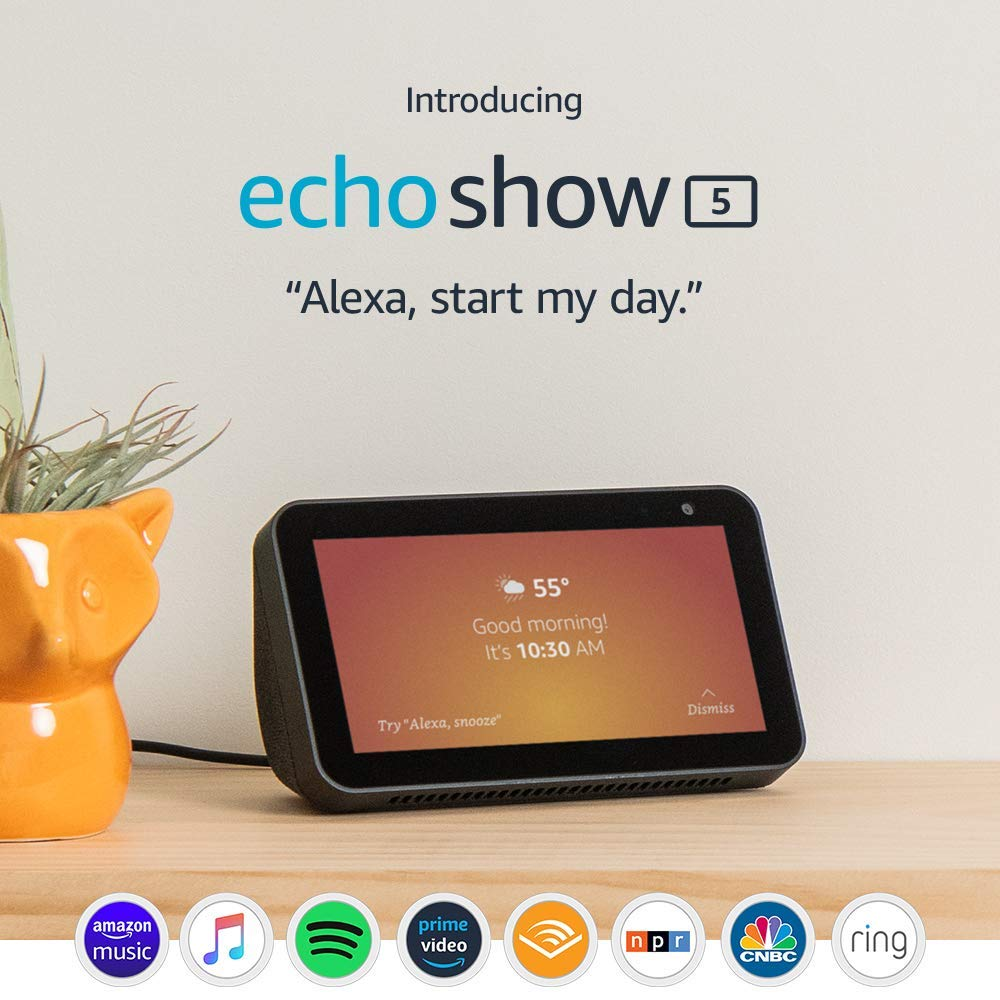 image of amazon echo show 5