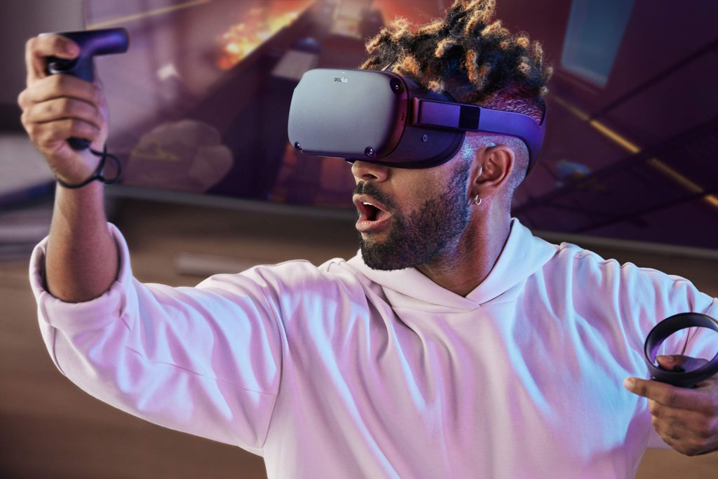 image of oculus-quest-gaming-vr-headset
