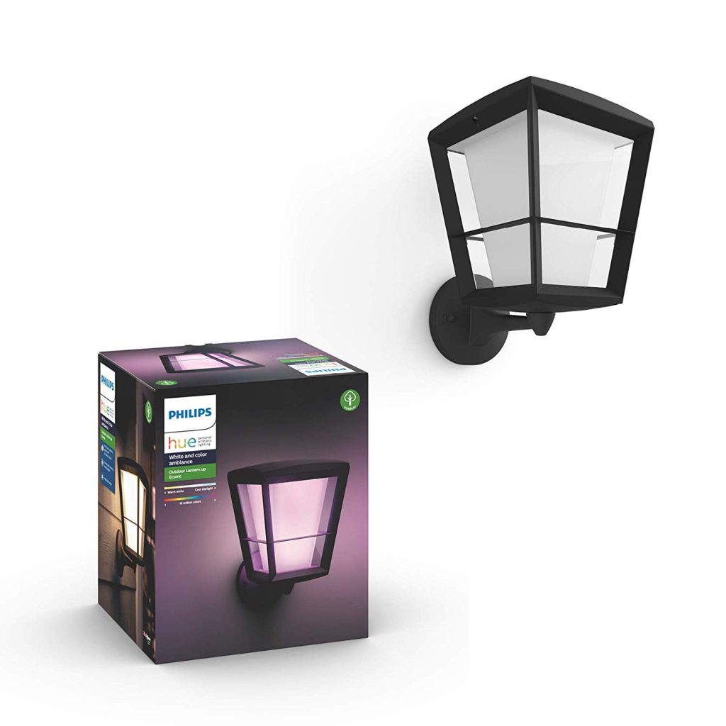 image of philips hue econic wall up lantern