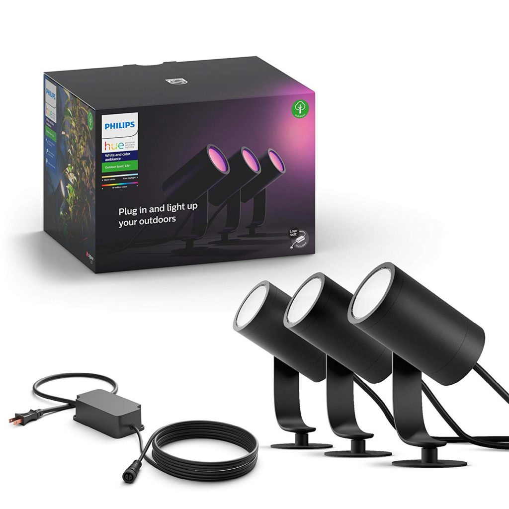 image of philips hue lily spotlight outdoor
