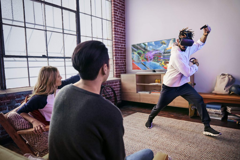 image of share your experience on oculus quest