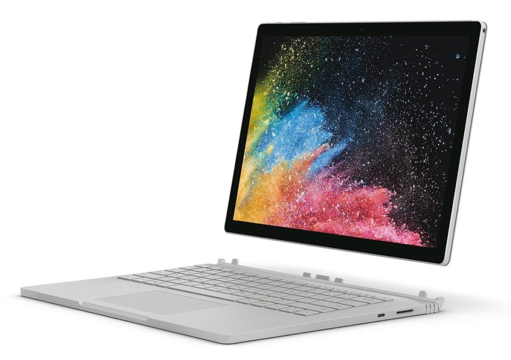 image of microsoft surface book 2