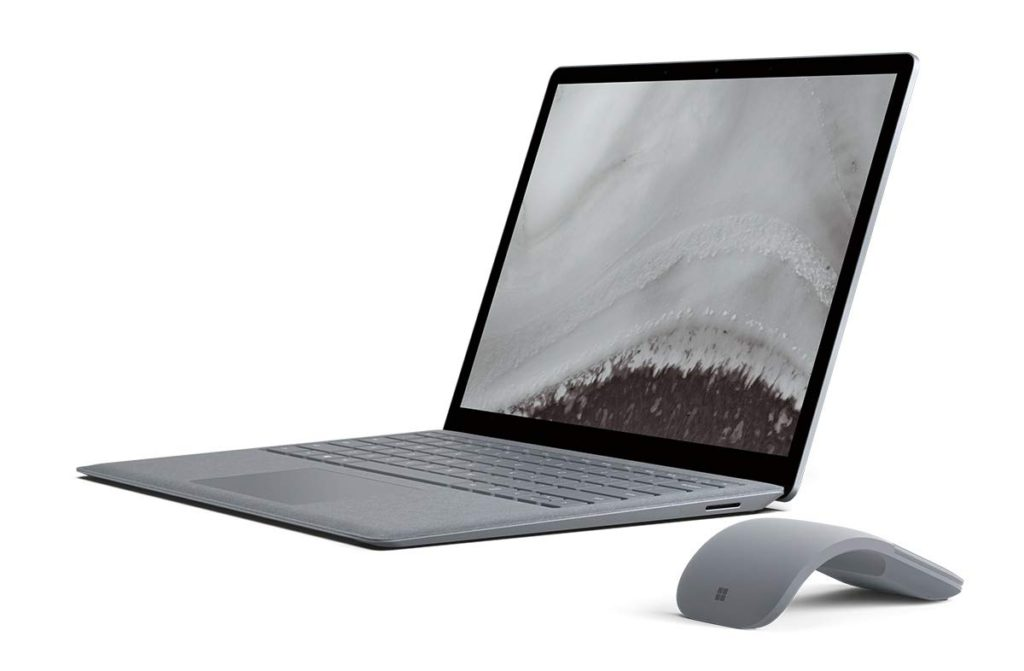 image of microsoft surface laptop 2