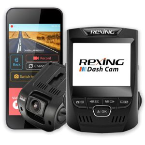 image of rexing v1 dash cam