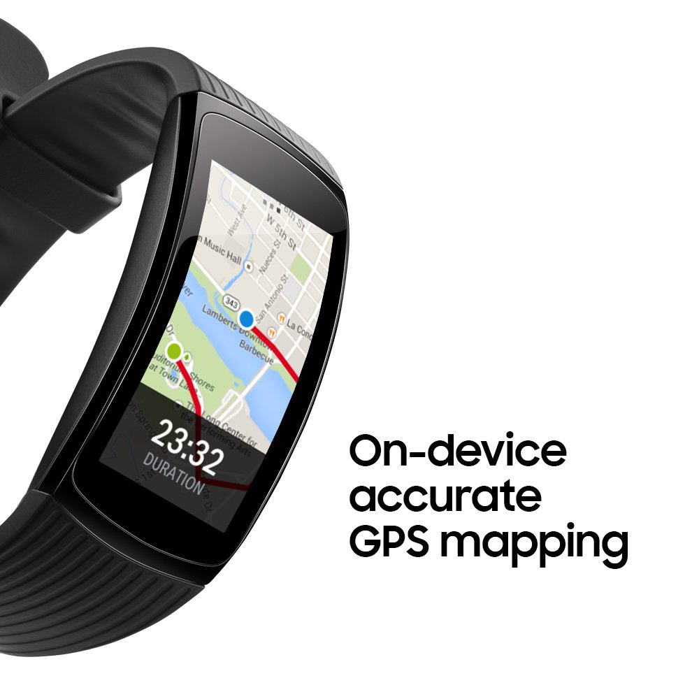 image of samsung gear fit 2 built in gps
